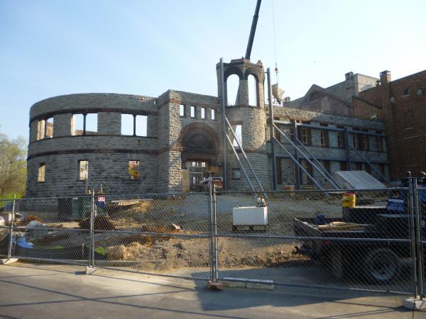 Renovation of Longworth Wing, Cincinnati Art Museum