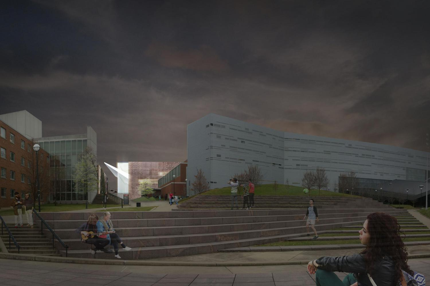 University of Cincinnati Arena Renovation Design Competition
