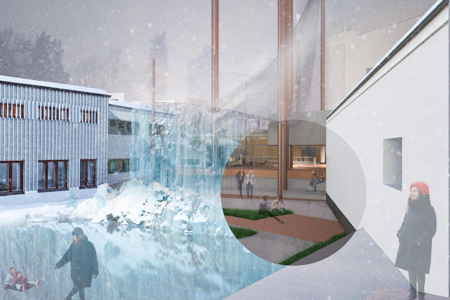 Alvar Aalto Foundation Museum Center Design Competition