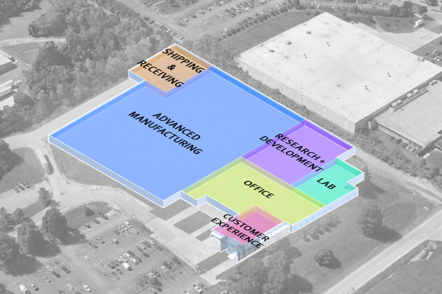 Summit Innovation Center Zone Diagram