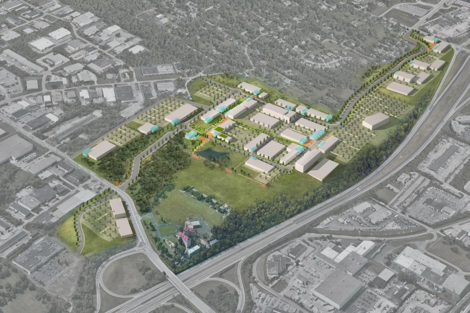 AeroHub Innovation District Master Plan